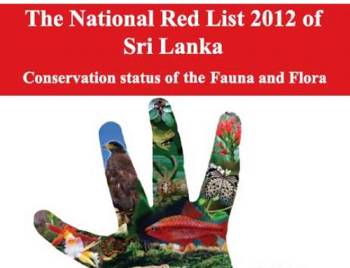 The National Red List of Sri Lanka 2012